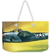 Lockheed P-38j Lightning Weekender Tote Bag