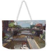 Lockport Locks Weekender Tote Bag