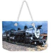 Locomotive 495 A Romantic View Weekender Tote Bag