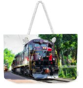 Locomotive In Color Weekender Tote Bag