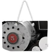 Locomotive Number Five Weekender Tote Bag