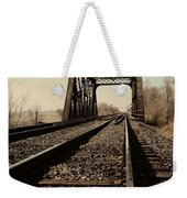 Locomotive Truss Bridge Weekender Tote Bag