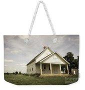 Locust Prairie One Room School Aged Weekender Tote Bag