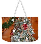 Lodge Lobby Tree Weekender Tote Bag