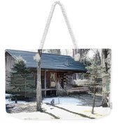 Log Cabin 2 Weekender Tote Bag