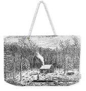 Log Cabin, C1800 Weekender Tote Bag