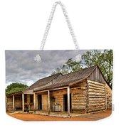 Log Cabin In Lbj State Park Weekender Tote Bag