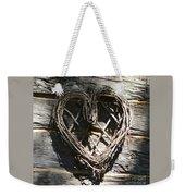 Log Cabin Love Weekender Tote Bag