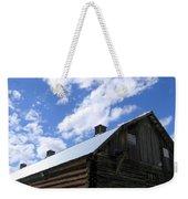 Log Clydesdale Barn Weekender Tote Bag