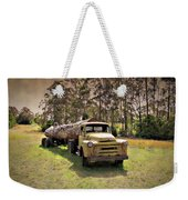 Log Mover Weekender Tote Bag