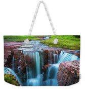 Logan Pass Abyss Weekender Tote Bag
