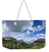 Logan Pass Panorama - Glacier National Park Weekender Tote Bag