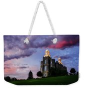 Logan Temple Heaven's Light Weekender Tote Bag