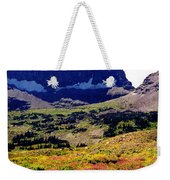 Logans Pass In Glacier National Park Weekender Tote Bag