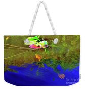 Loggerhead Sea Turtle In The Florida Everglades Weekender Tote Bag