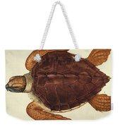 Loggerhead Turtle, 1585 Weekender Tote Bag