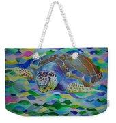 Loggerhead Turtle Weekender Tote Bag
