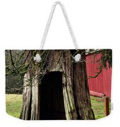 Loggers Outhouse Weekender Tote Bag