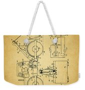 Logging Truck Patent Weekender Tote Bag