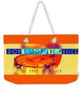 Logo Rullante Hd Weekender Tote Bag