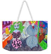 Lois And Arnold Roundabout Weekender Tote Bag