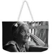 Lola Image Number 33 In Black And White. Weekender Tote Bag