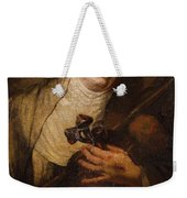 Lombard School, 17th Century Saint Catherine Of Siena Weekender Tote Bag