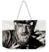 Lon Chaney, Jr. As Wolfman Weekender Tote Bag