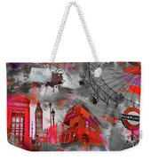 London Art 56 Weekender Tote Bag