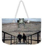 London Beach Weekender Tote Bag