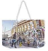 London Bubbles B Weekender Tote Bag