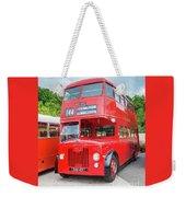 London Bus Weekender Tote Bag