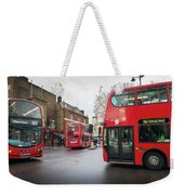 London Buses Weekender Tote Bag