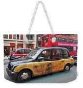 London Busy Street Weekender Tote Bag