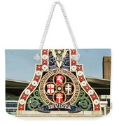 London Chatham And Dover Railway Crest With Invicta Motto Blackfriars Railway Station Weekender Tote Bag