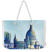 London City St Paul's Cathedral Weekender Tote Bag