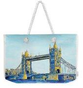 London City Tower Bridge Weekender Tote Bag