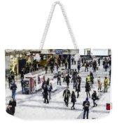 London Commuter Art Weekender Tote Bag