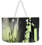 London E1 Skyline Abstract  Weekender Tote Bag