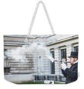 London Explosion 2 Weekender Tote Bag