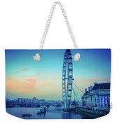 London Eye At Dusk Weekender Tote Bag