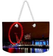 London Eye Weekender Tote Bag by Heather Applegate