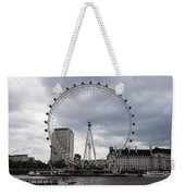 London Eye View Weekender Tote Bag