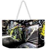 London Graffiti Art Weekender Tote Bag