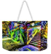 London Graffiti Van Gogh Weekender Tote Bag