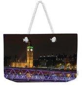 London Lights Weekender Tote Bag