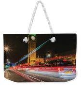 London Lit Weekender Tote Bag