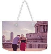 London Love, Love London Weekender Tote Bag