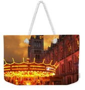 London Museum At Night Weekender Tote Bag