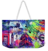 London Portrait  Weekender Tote Bag